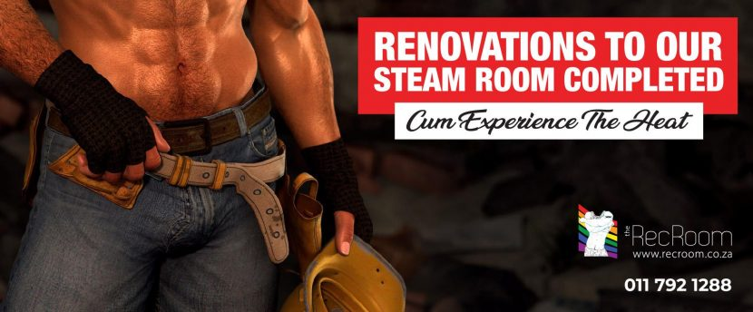 The Rec Room is getting a new steam room
