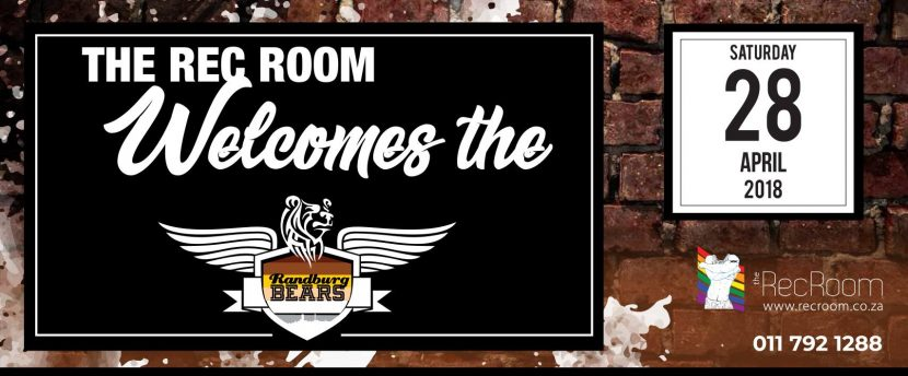 The Rec Room welcomes the randburg bears