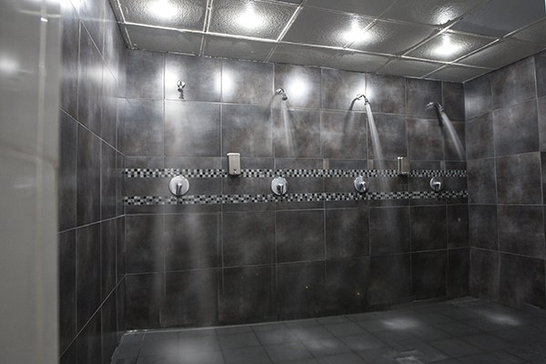 photo of showers