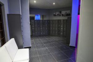 Photo of locker facilities